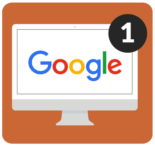 Google on a desktop computer.