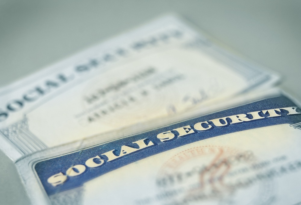 Social security papers.